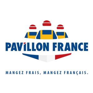 logo du Pavillon France partenaire des viviers du cap